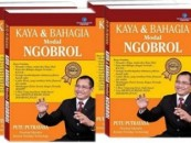 Buku Kaya dan Bahagia dengan MODAL NGOBROL
