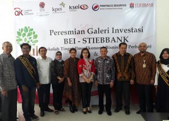 Peresmian Galeri Investasi BEI di STIEBBANK Yogyakarta