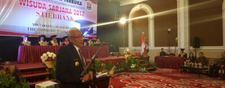 Wisuda Sarjana STIEBBANK Yogyakarta – Agustus 2017