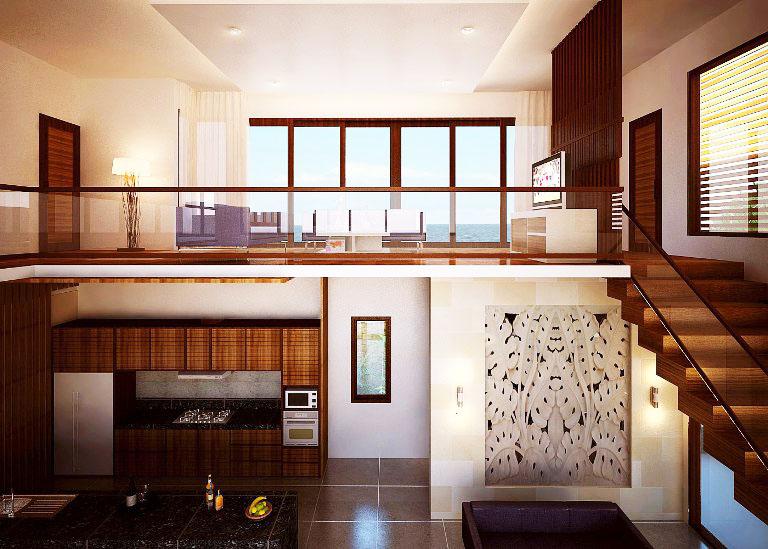 Rumah-dengan-Mezzanine-Modern