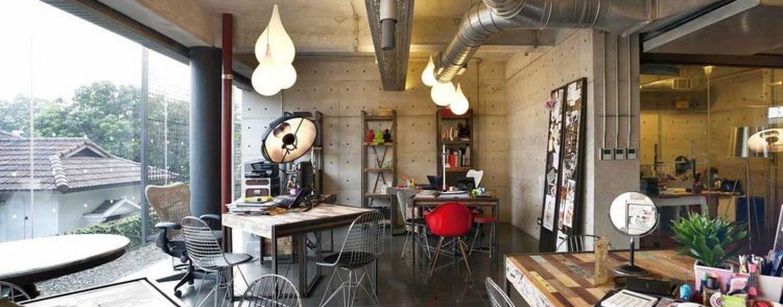 Inspirasi Desain Ruang Kerja Industrial